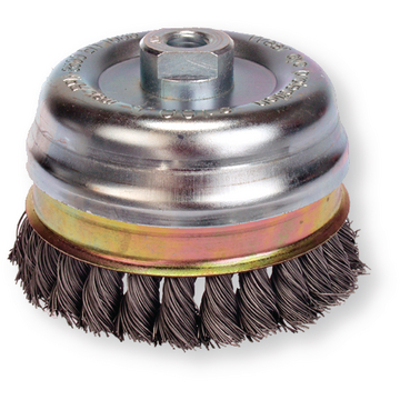 Knot cup brush 100 mm 0,8
